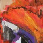 Abstract paintings by Jeanette Jarville